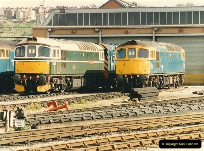 1987-05-02 Bristol Temple Meads, Bristol.  (42)0548