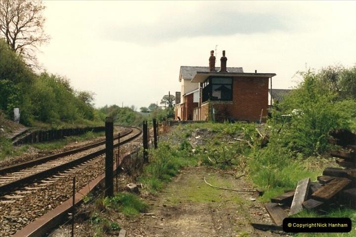 1987-05-04 Semley, Wiltshire.  (3)0576