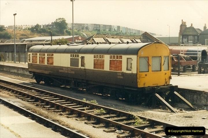 1987-08-21 to 23 Bristol Temple Meads, Bristol. (3)0635