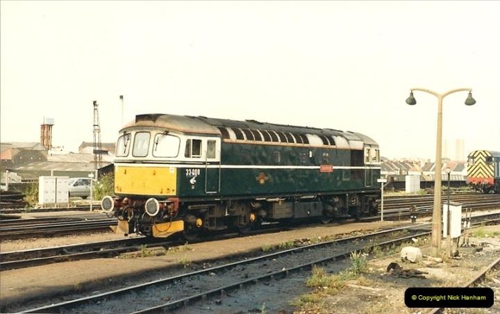 1987-08-21 to 23 Bristol Temple Meads, Bristol. (9)0641