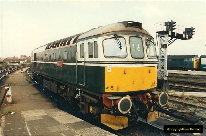 1987-08-21 to 23 Bristol Temple Meads, Bristol. (10)0642