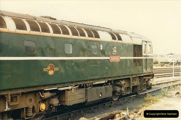 1987-08-21 to 23 Bristol Temple Meads, Bristol. (11)0643