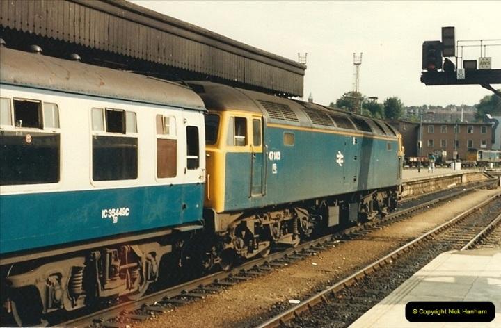 1987-08-21 to 23 Bristol Temple Meads, Bristol. (15)0647