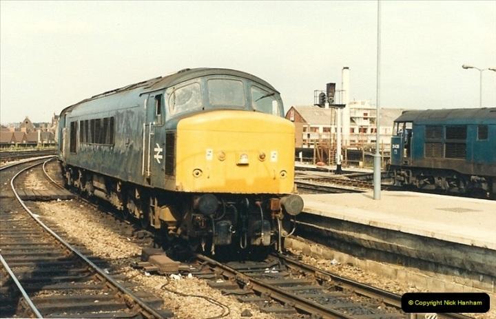 1987-08-21 to 23 Bristol Temple Meads, Bristol. (18)0650
