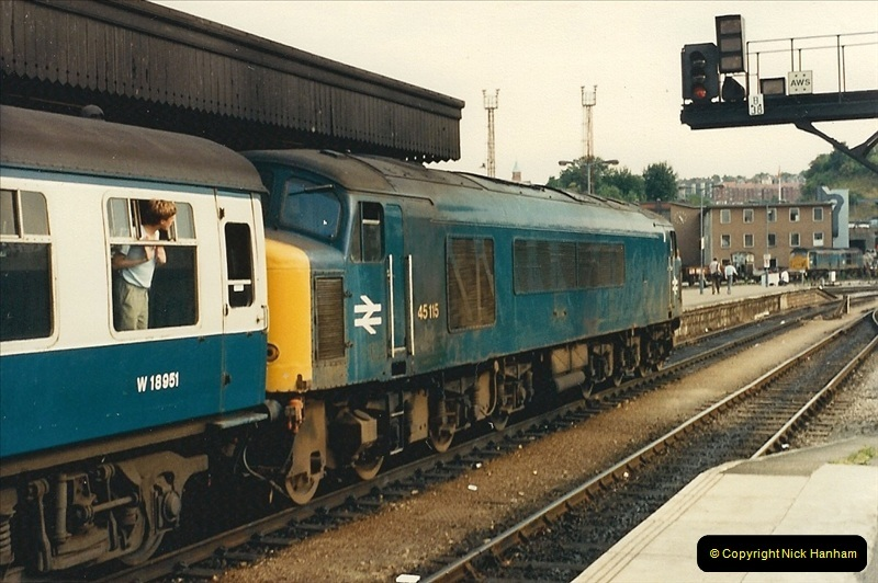 1987-08-21 to 23 Bristol Temple Meads, Bristol. (19)0651