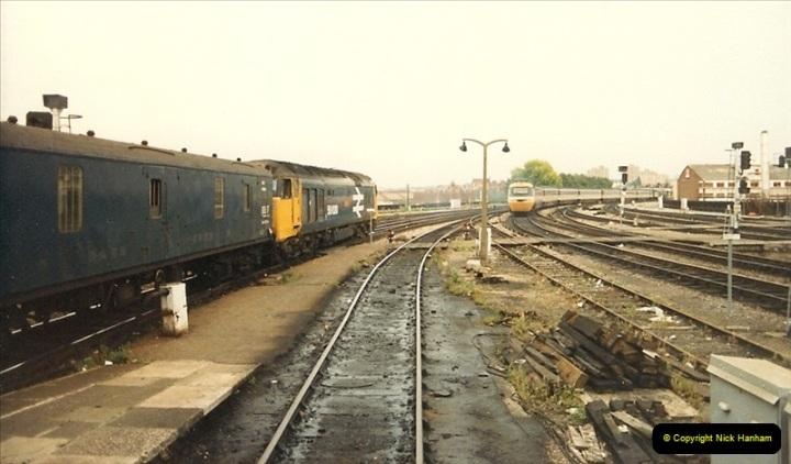 1987-08-21 to 23 Bristol Temple Meads, Bristol. (28)0660