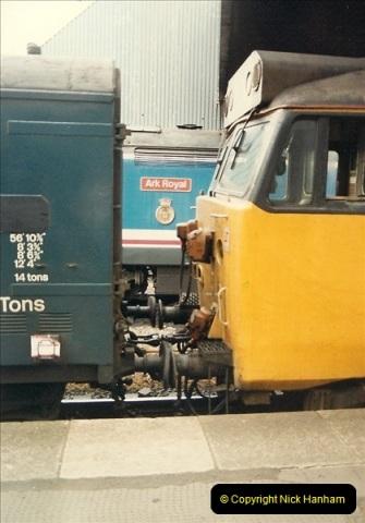 1987-08-21 to 23 Bristol Temple Meads, Bristol. (29)0661
