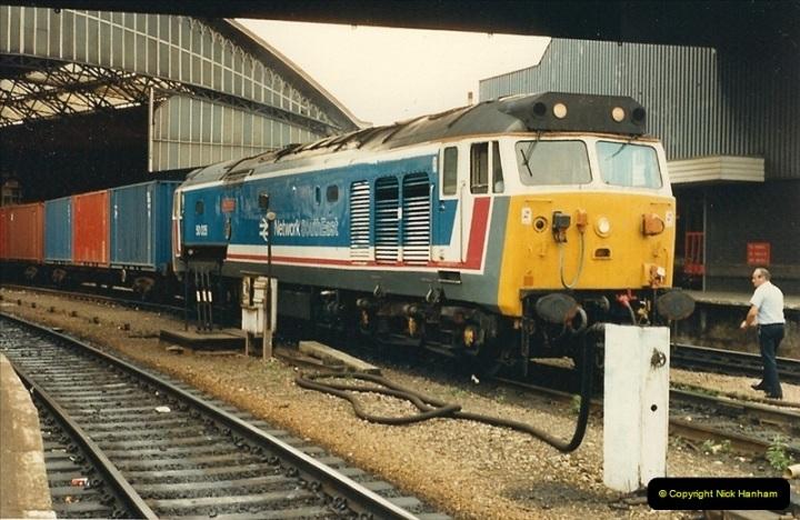 1987-08-21 to 23 Bristol Temple Meads, Bristol. (30)0662