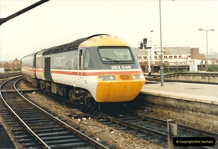 1987-08-21 to 23 Bristol Temple Meads, Bristol. (31)0663