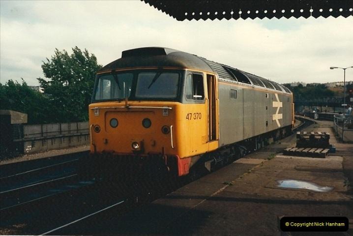 1987-08-21 to 23 Bristol Temple Meads, Bristol. (39)0671