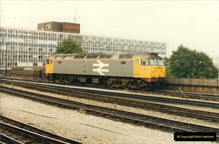 1987-08-21 to 23 Bristol Temple Meads, Bristol. (40)0672