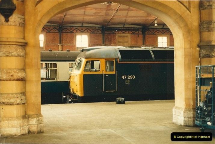 1987-08-21 to 23 Bristol Temple Meads, Bristol. (41)0673