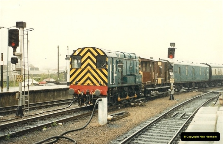 1987-08-21 to 23 Bristol Temple Meads, Bristol. (43)0675