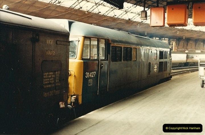 1987-08-21 to 23 Bristol Temple Meads, Bristol. (45)0677