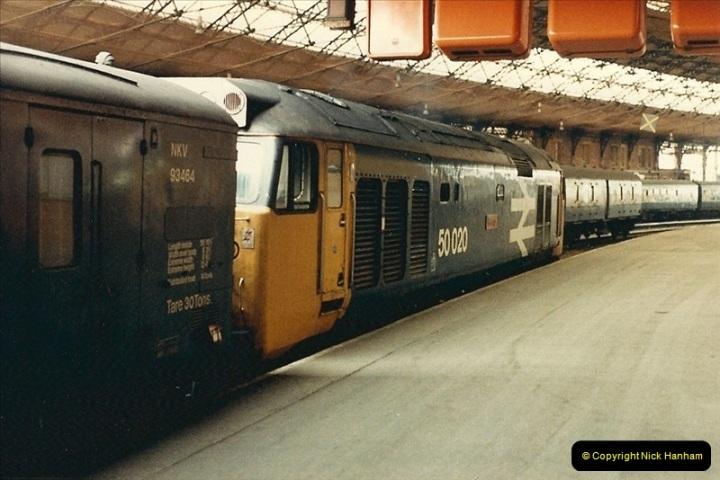 1987-08-21 to 23 Bristol Temple Meads, Bristol. (46)0678