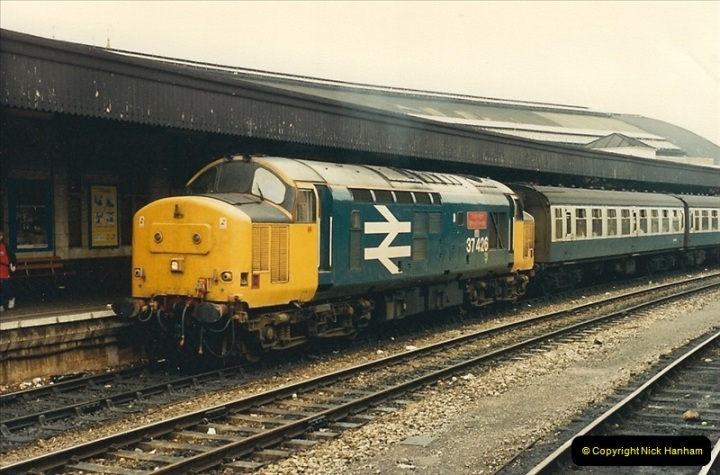 1987-08-21 to 23 Bristol Temple Meads, Bristol. (50)0682
