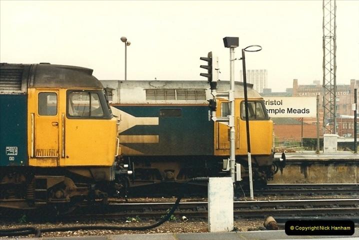 1987-08-21 to 23 Bristol Temple Meads, Bristol. (51)0683