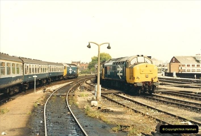 1987-08-21 to 23 Bristol Temple Meads, Bristol. (55)0687