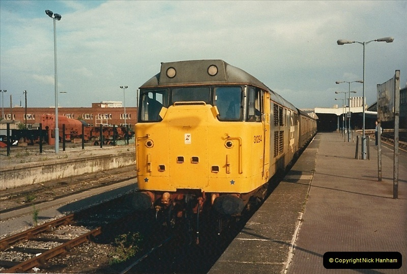 1987-08-21 to 23 Bristol Temple Meads, Bristol. (59)0691