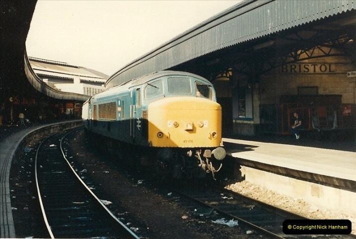 1987-08-21 to 23 Bristol Temple Meads, Bristol. (63)0695
