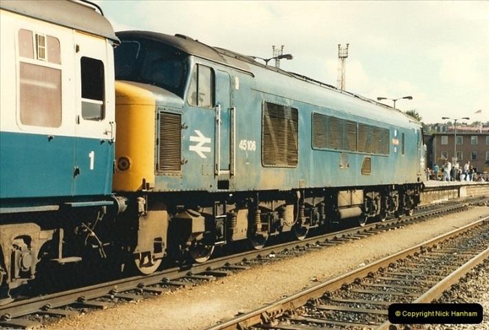 1987-08-21 to 23 Bristol Temple Meads, Bristol. (64)0696