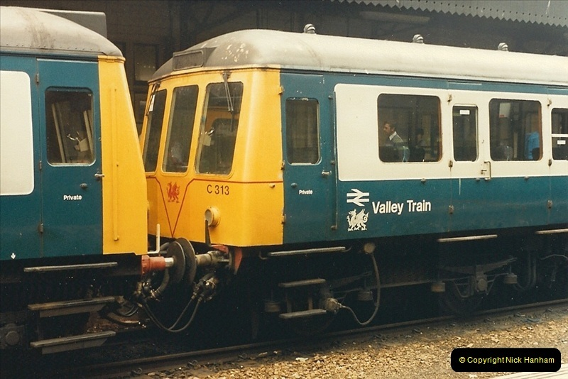 1987-08-21 to 23 Bristol Temple Meads, Bristol. (71)0703