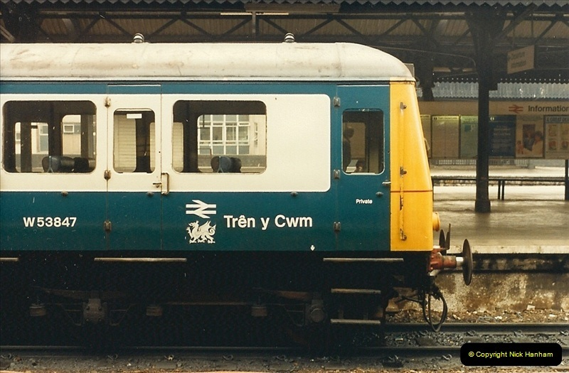 1987-08-21 to 23 Bristol Temple Meads, Bristol. (72)0704