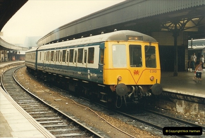 1987-08-21 to 23 Bristol Temple Meads, Bristol. (73)0705