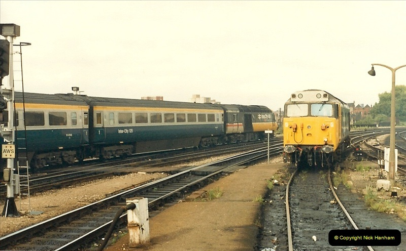 1987-08-21 to 23 Bristol Temple Meads, Bristol. (76)0708