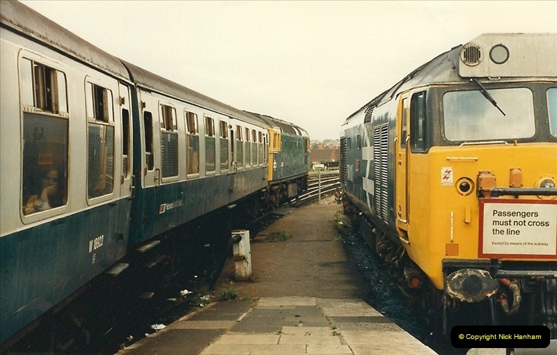 1987-08-21 to 23 Bristol Temple Meads, Bristol. (80)0712