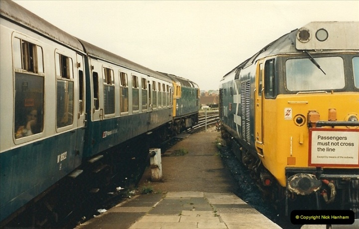 1987-08-21 to 23 Bristol Temple Meads, Bristol. (80)0712