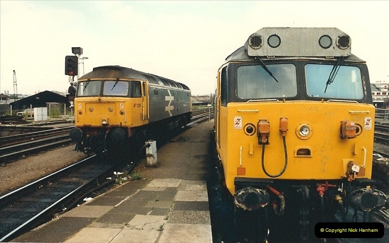 1987-08-21 to 23 Bristol Temple Meads, Bristol. (81)0713