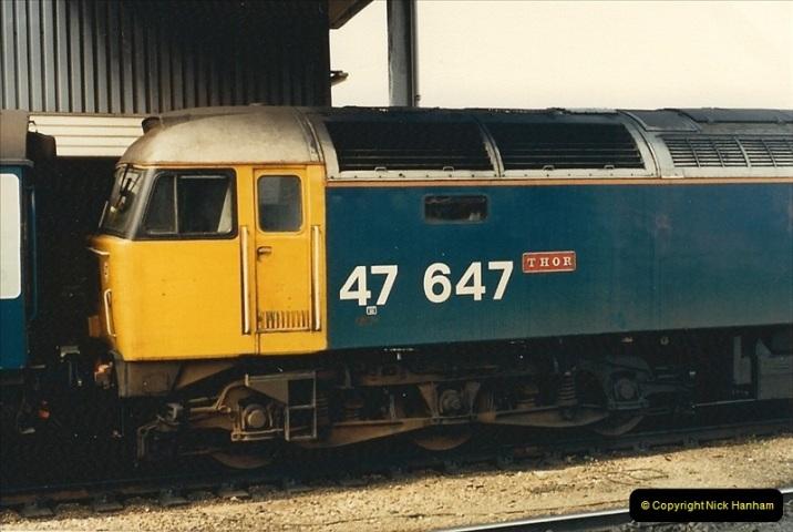 1987-08-21 to 23 Bristol Temple Meads, Bristol. (85)0717