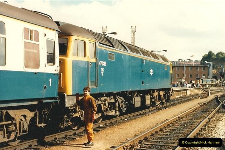 1987-08-21 to 23 Bristol Temple Meads, Bristol. (86)0718