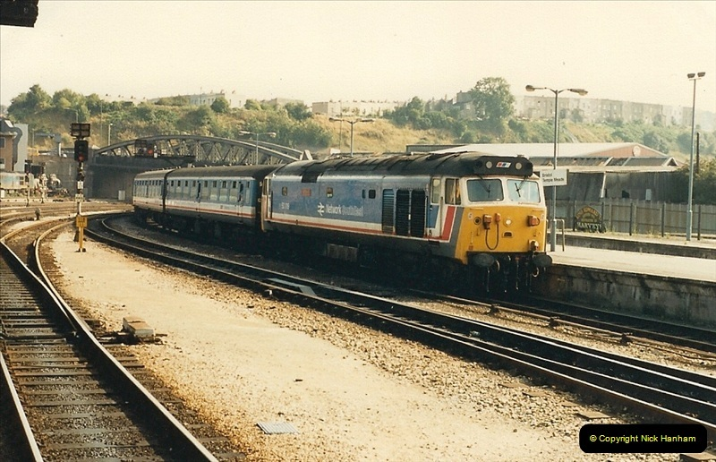 1987-08-21 to 23 Bristol Temple Meads, Bristol. (87)0719