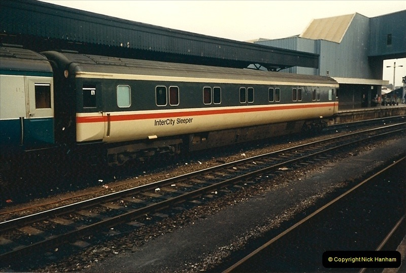 1987-08-21 to 23 Bristol Temple Meads, Bristol. (88)0720