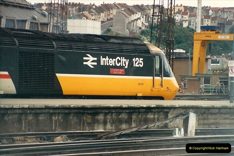 1987-09-21 to 23 Bristol Temple Meads, Bristol.  (92)0724