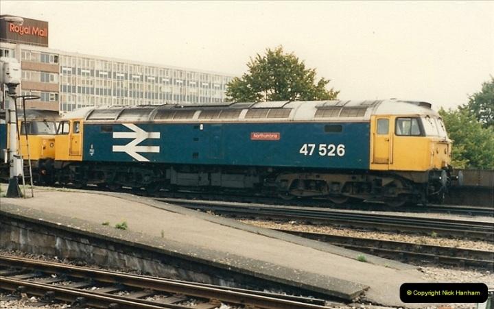 1987-09-21 to 23 Bristol Temple Meads, Bristol.  (96)0728