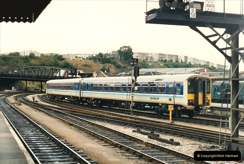 1987-09-21 to 23 Bristol Temple Meads, Bristol.  (97)0729