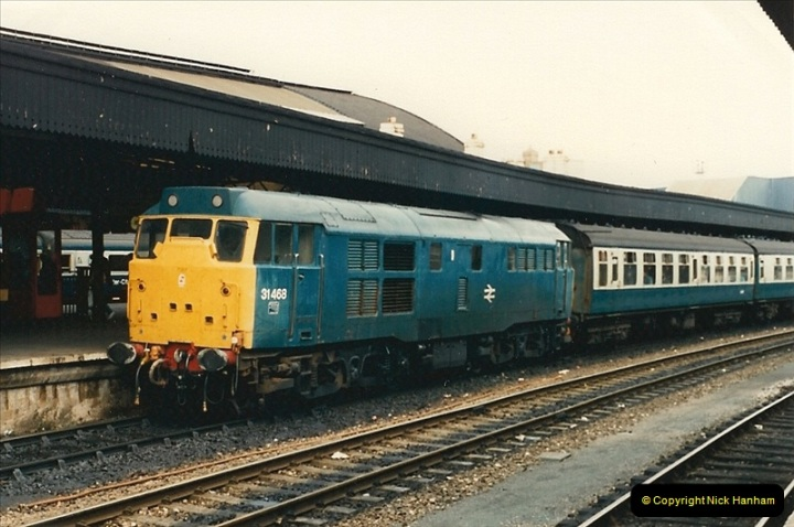 1987-09-21 to 23 Bristol Temple Meads, Bristol.  (102)0734