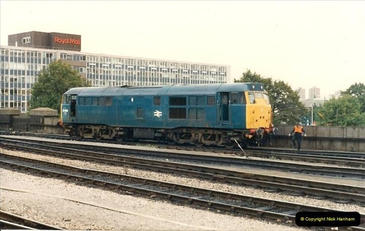 1987-09-21 to 23 Bristol Temple Meads, Bristol.  (104)0736
