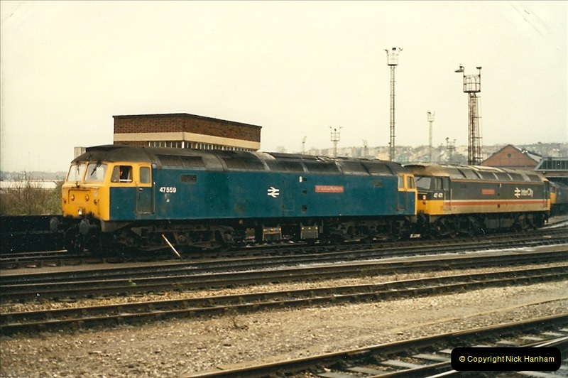 1989-01-17 Bristol Temple Meads, Bristol.  (8)0008