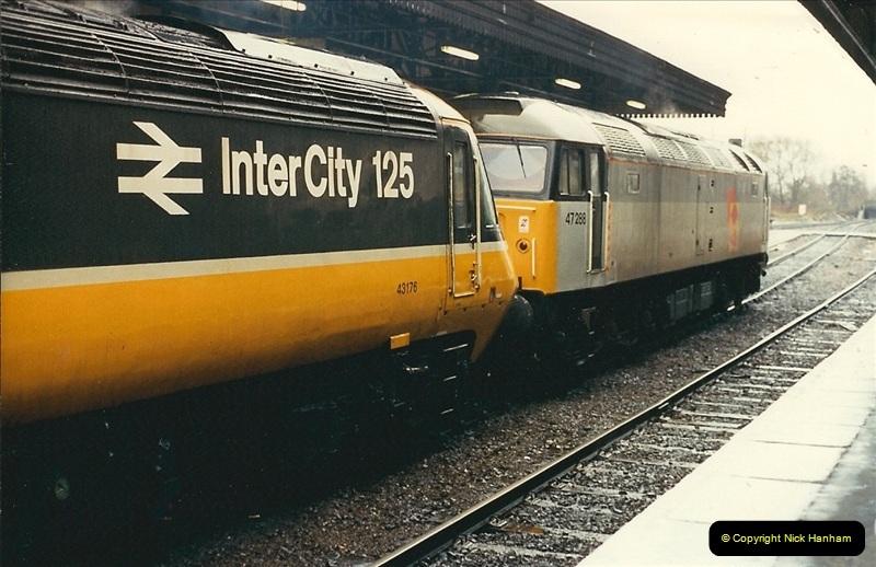 1989-02-25 Exeter St. Davids, Exeter, Devon.  (12)0123