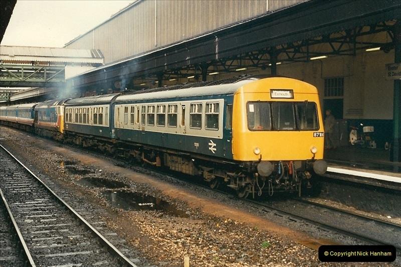 1989-02-25 Exeter St. Davids, Exeter, Devon.  (16)0127