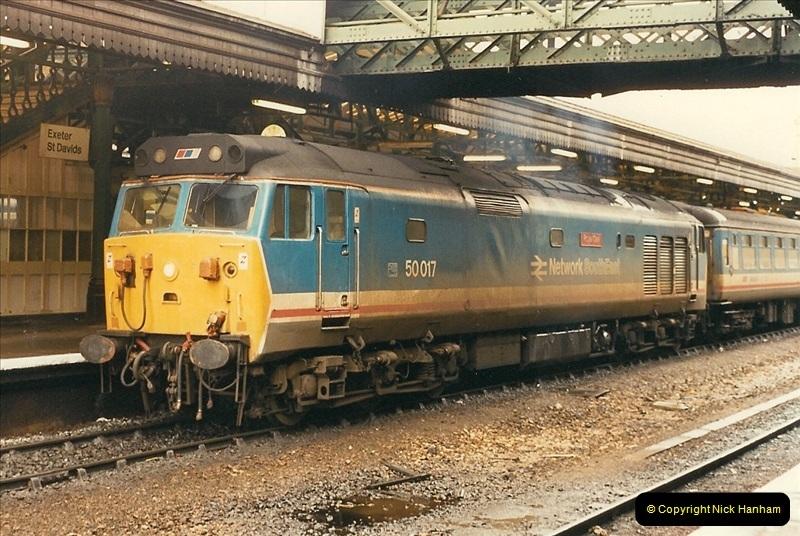 1989-02-25 Exeter St. Davids, Exeter, Devon.  (20)0131