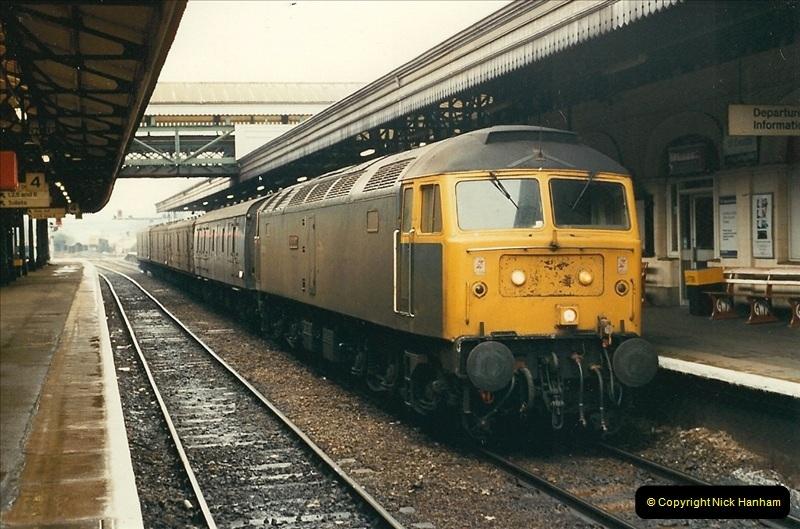 1989-02-25 Exeter St. Davids, Exeter, Devon.  (22)0133