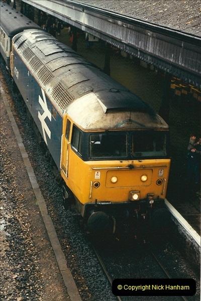 1989-02-25 Exeter St. Davids, Exeter, Devon.  (27)0138