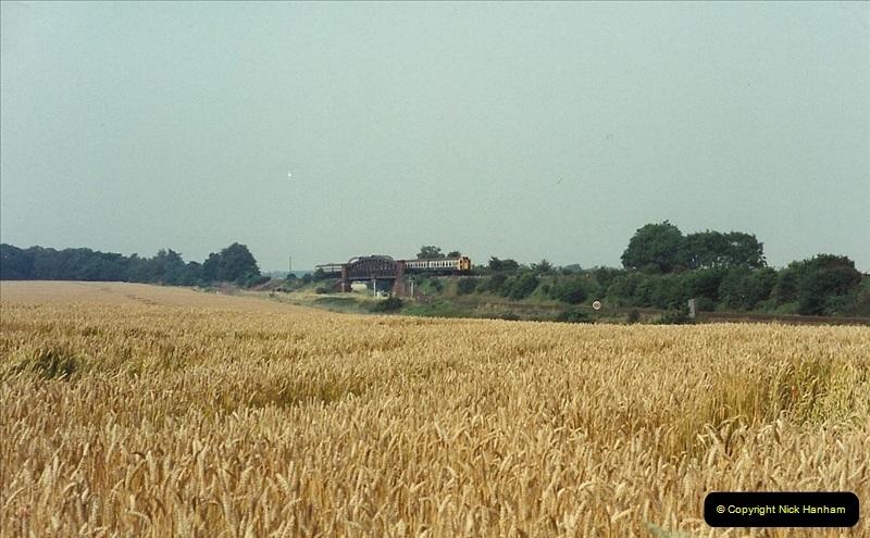 1989-07-25 Battledown Flyover, Basingstoke, Hampshire.  (1)0333