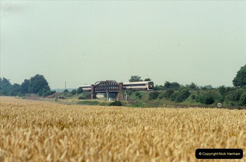 1989-07-25 Battledown Flyover, Basingstoke, Hampshire.  (7)0339