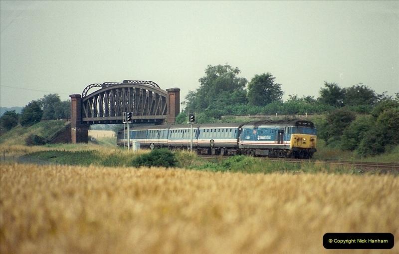 1989-07-25 Battledown Flyover, Basingstoke, Hampshire.  (10)0342